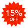 Now on sale! ++ 15% OFF ==> img/products/save15.png