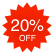 Now on sale! ++ 20% OFF ==> img/products/save20.png